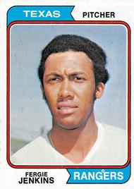 1974 Topps #87 Fergie Jenkins NRMT (74T87NRMT)