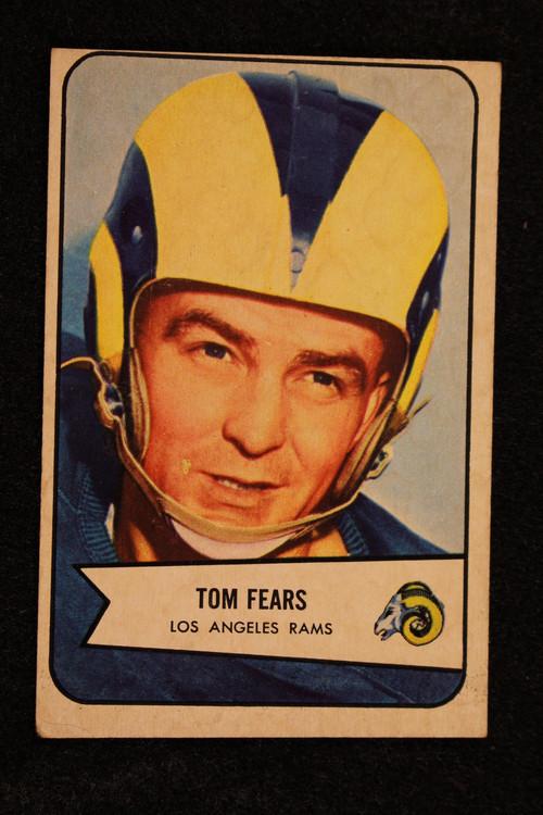 1954 Bowman #120 Tom Fears VG  Rams