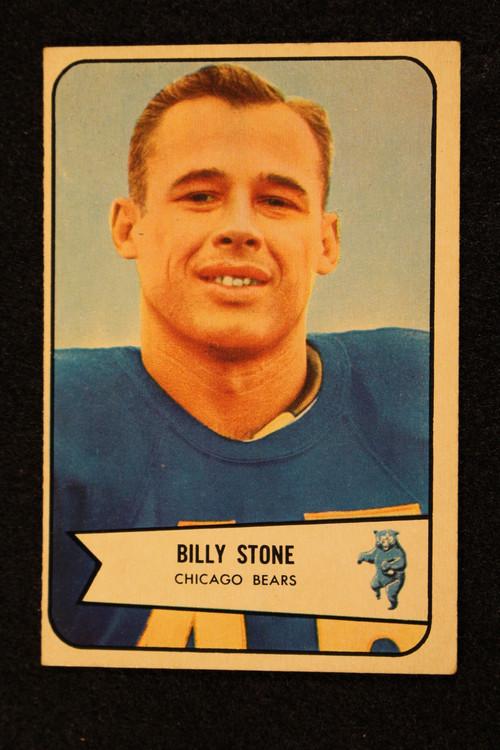 1954 Bowman #106 Billy Stone EX Bears