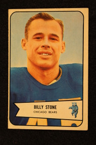 1954 Bowman #106 Billy Stone EX Bears