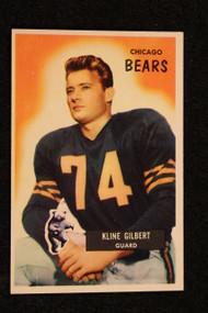 1955 Bowman #49 Kline Gilbert NRMT+ Bears