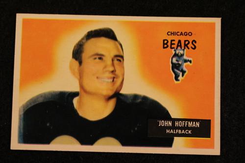 1955 Bowman #56 John Hoffman NRMT Bears
