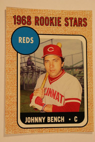 2006 06 Topps Rookie of the Week #16 of 25 Johnny Bench 68 Topps HOF Reds