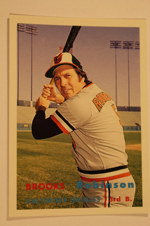 Baseball Cards, Brooks Robinson, Robinson, Orioles, 2006 Topps, 1957 Topps