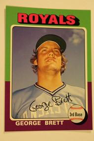 Baseball Cards, George Brett, Brett, 2006 Topps, 1975 Topps, Royals, Rookie