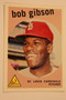 Baseball Cards, Bob Gibson, Gibson, 2006 Topps, 1959 Topps, Cardinals, Rookie, Rookie of the Week