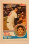 Baseball Cards, Wade Boggs, Boggs, 2006 Topps, 1983 Topps, Red Sox, Rookie, Rookie of the Week