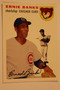 Baseball Cards, Ernie Banks, Banks, 2006 Topps, 1954 Topps, Cubs, Rookie, Rookie of the Week