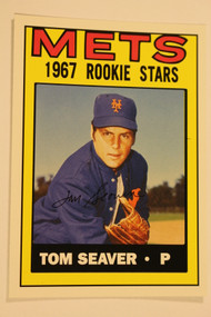 Baseball Cards, Tom Seaver, Seaver, 2006 Topps, 1967 Topps, Mets, Rookie, Rookie of the Week