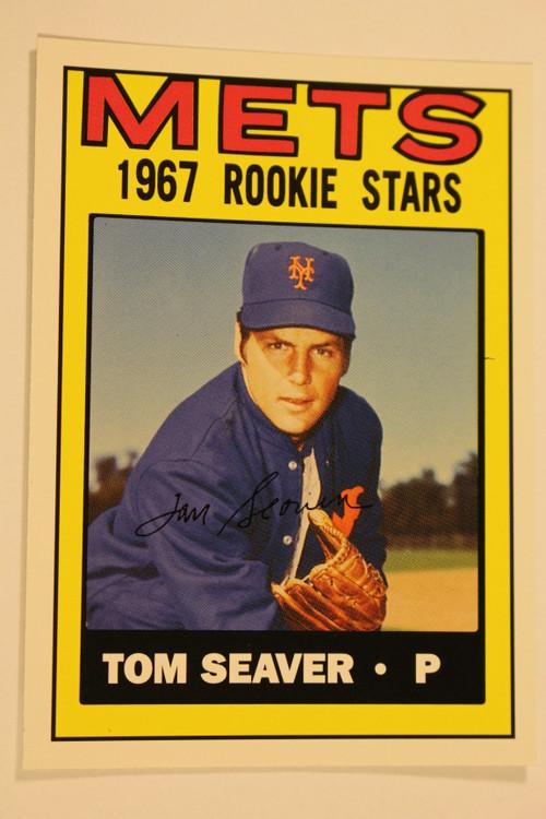Baseball Cards, Tom Seaver, Seaver, 2006 Topps, 1967 Topps, Mets, Rookie, Rookie of the Week
