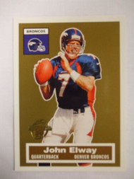 Football Cards, John Elway, Elway, 2005 Topps, Broncos, Turn Back the Clock