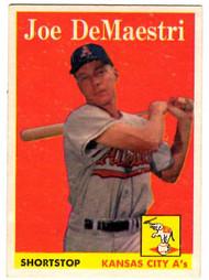 1958 Topps, Baseball Cards, Topps,  Joe, DeMaestri, A's