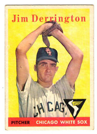 1958 Topps, Baseball Cards, Topps, Jim Derrington, White Sox