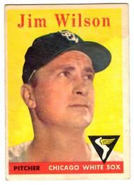 1958 Topps, Baseball Cards, Topps, Jim Wilson, White Sox