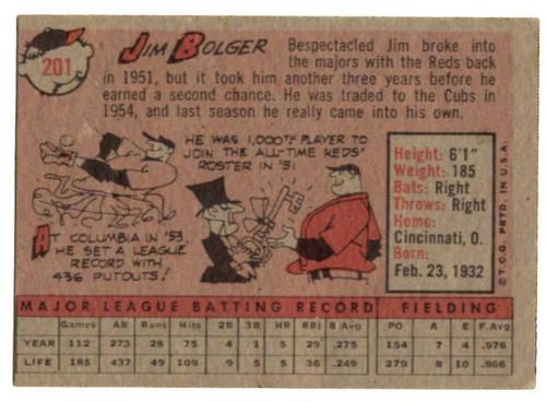 1958 Topps, Baseball Cards, Topps, Jim Bolger, Cubs