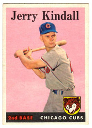 1958 Topps, Baseball Cards, Topps, Jerry Kindall, Cubs