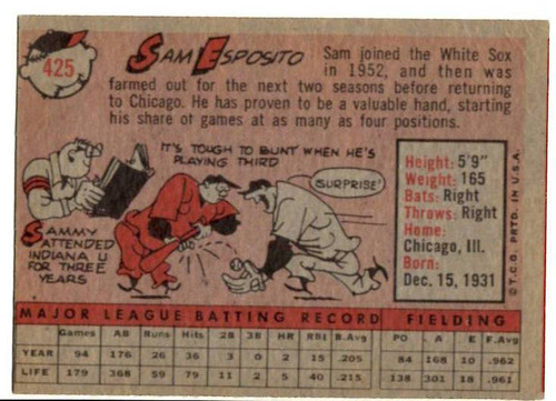 1958 Topps, Baseball Cards, Topps, Johnny O'Brien, Pirates
