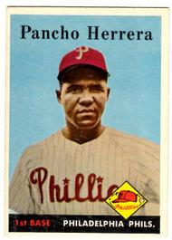 1958 Topps, Baseball Cards, Topps, Pancho Herrera, Phillies