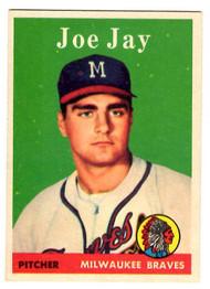 1958 Topps, Baseball Cards, Topps, Joe Jay, Braves