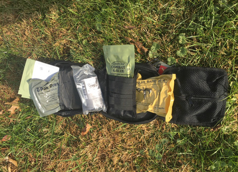 The First Responder Trauma Kit includes everything shown!
