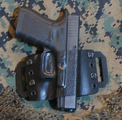 "CMS Kydex Holster ""The Minimalist"""