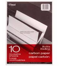 10ct 8.5x11 Carb Paper