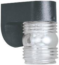 "4-1/2"" Blk Wall Lantern"