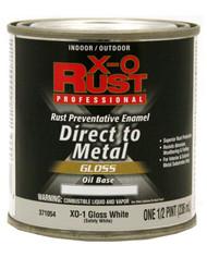 Xo 1/2pt Wht Oil Enamel