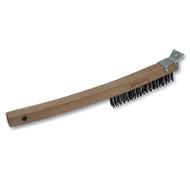 Curved L Brush/scraper