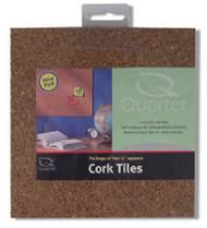 4pk 6x6 Cork Tile