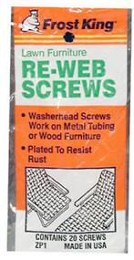 20pk Webbing Screws
