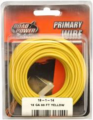 33' Yel 18ga Prim Wire