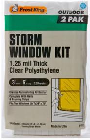 2pk 3x6 Wind Cover Kit