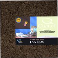 4pk12x12 Dark Cork Tile