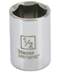 Mm 1/4dr 1/2 6pt Socket