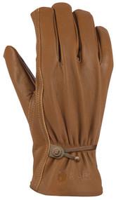 Xl Brn Lthr Drive Glove