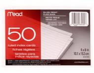 50ct 4x6 Index Cards