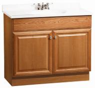 "Richm 36.5"" Oak Vanity"