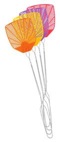 Plas Fly Swatter Asstd