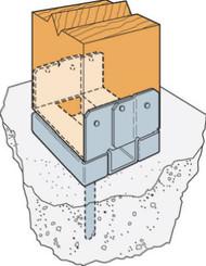 4x4 Standoff Post Base