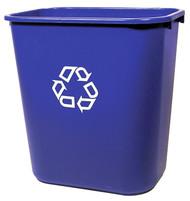 28qt Blu Recycl Waste