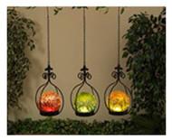Ripple Glass Sphere Set