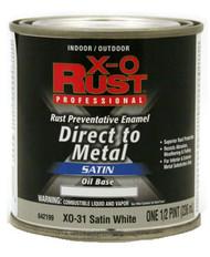 Xo 1/2pt Wht Oil Base