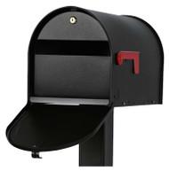 Mailsafeii Blk Mailbox