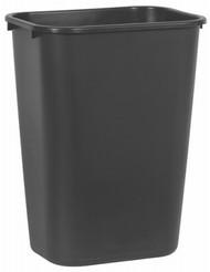 41qt Blk Wastebasket