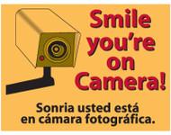 9x12 Yel Smile Sign