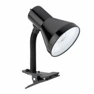 "10.25"" Blk Clip Lamp"