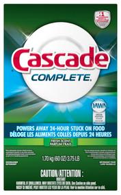 Cascade 60oz Detergent