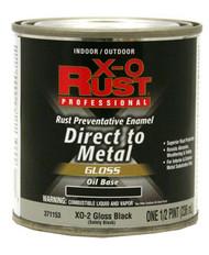 Xo 1/2pt Blk Oil Base