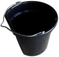 Mr 20qt Blk Flt Bucket